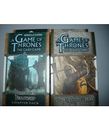 A Game of Thrones chapter pack lot of 2 forgotten fellowship the grand m... - $10.98