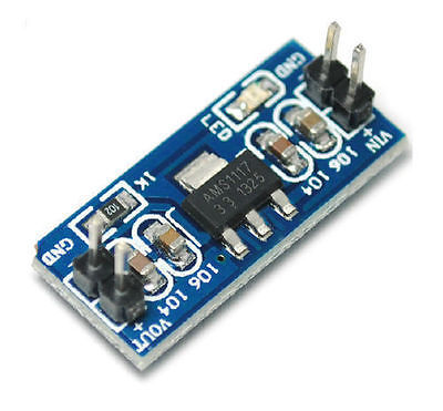 AMS1117 3,3V 800mA DC-DC Step Down Voltage Controller Module for Arduino