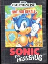 Sega Genesis - Sonic the Hedgehog image 1