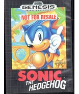 Sega Genesis Sonic the Hedgehog - $14.95