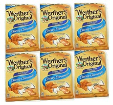 Werther's Original Sugar Free Candy Chewy Caramel 1.46 Oz / Pack, New Sealed - $19.99