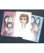 Led Zeppelin Bob Dylan Queen 1978 Rockards colo... - £15.35 GBP