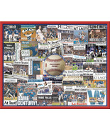 "Chicago Cubs 2016 World Series Newspaper Collage Print Art-16x20"" Unfram... - $19.99"