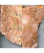 Sunset Travertine Gemstone Slab Cabbing Rough - $2.30