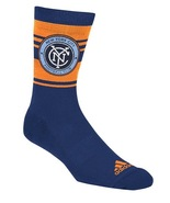 MLS New York City FC Men's Jersey Hook Crew Socks XL 12-15 - $9.95