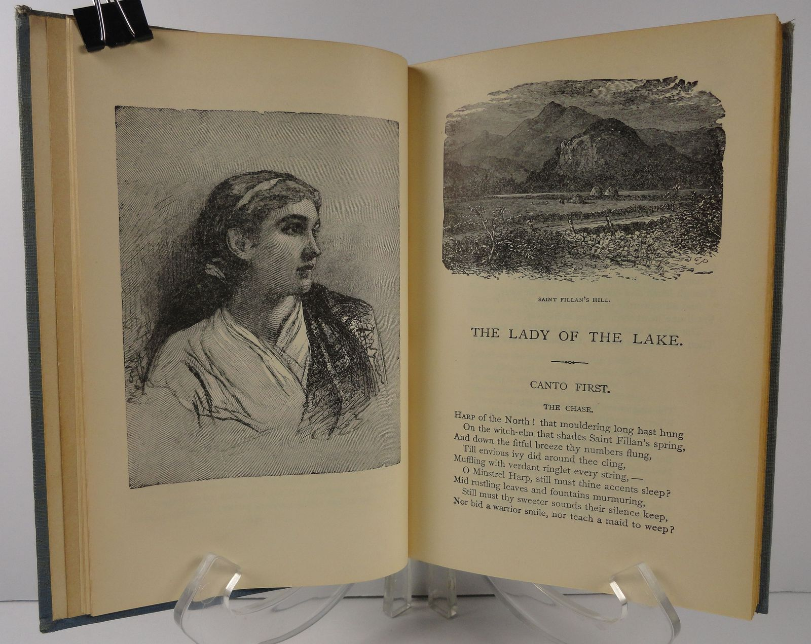 Lady of the Lake William J. Rolfe Riverside Literature 1908