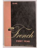 Review Text in French First Year by Eli Blume Amsco School  - $8.99