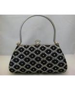 Black Sparkle Evening Bag Very Unique New - $29.00