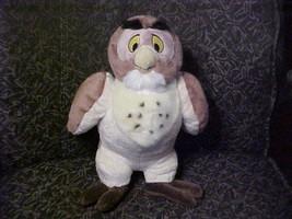 "14"" Disney OWL Plush Toy From Winnie The Pooh Disney Store Super Nice - $70.10"