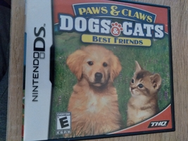 Nintendo DS Paws & Claws: Dogs & Cats: Best Friends image 1