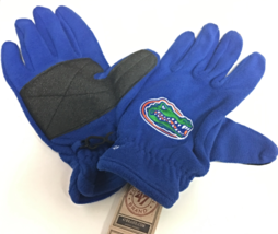 NCAA Florida Gators Men's '47 Fleece Gloves, Royal - $12.00