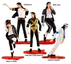 Michael Jackson Action Figure Pop Doll King Statue Figures Thriller Set ... - $39.46