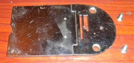 Japan Deluxe Fleetwood Hinged Throat Plate & Bo... - $12.50
