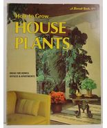 How to Grow House Plants 1974 A Sunset Book - $2.99