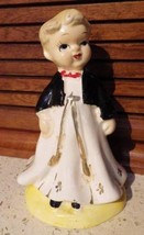 Vintage Japan Christmas Choirboy Altar Boy Porcelain Figurine Japan Exqu... - $12.59