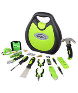 TOOL KIT HOUSEHOLD 72 PIECE BY APOLLO - $73.95 CAD