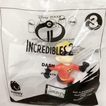The Incredibles 2 DASH Spinner #3 McDonalds Happy Meal Toy Disney Pixar ... - $5.99