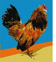 pepita Brilliant Rooster Needlepoint Kit - $113.00