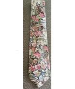 "Tango by Max Raab Tie ~ Floral Design Necktie ~ 3.75"" x 57"" Long ~ 100% ... - $19.80"