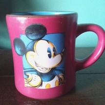 Mug Disney Mickey Pink Coffee Cup Tea Coco - £16.97 GBP