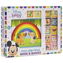 Disney Baby Mickey, Minnie Mouse, Frozen and More! - 10 Wooden Blocks an... - $21.99