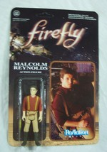 Re Action Figures Firefly Malcolm Reynolds Action Figure Toy New - $16.34