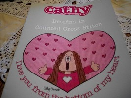 Cathy Designs in Counted Cross Stitch Book 5085 - $5.00