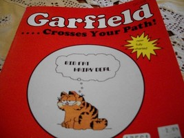 Garfield...Crosses Your Path! Counted Cross Stitch Leaflet - $5.00