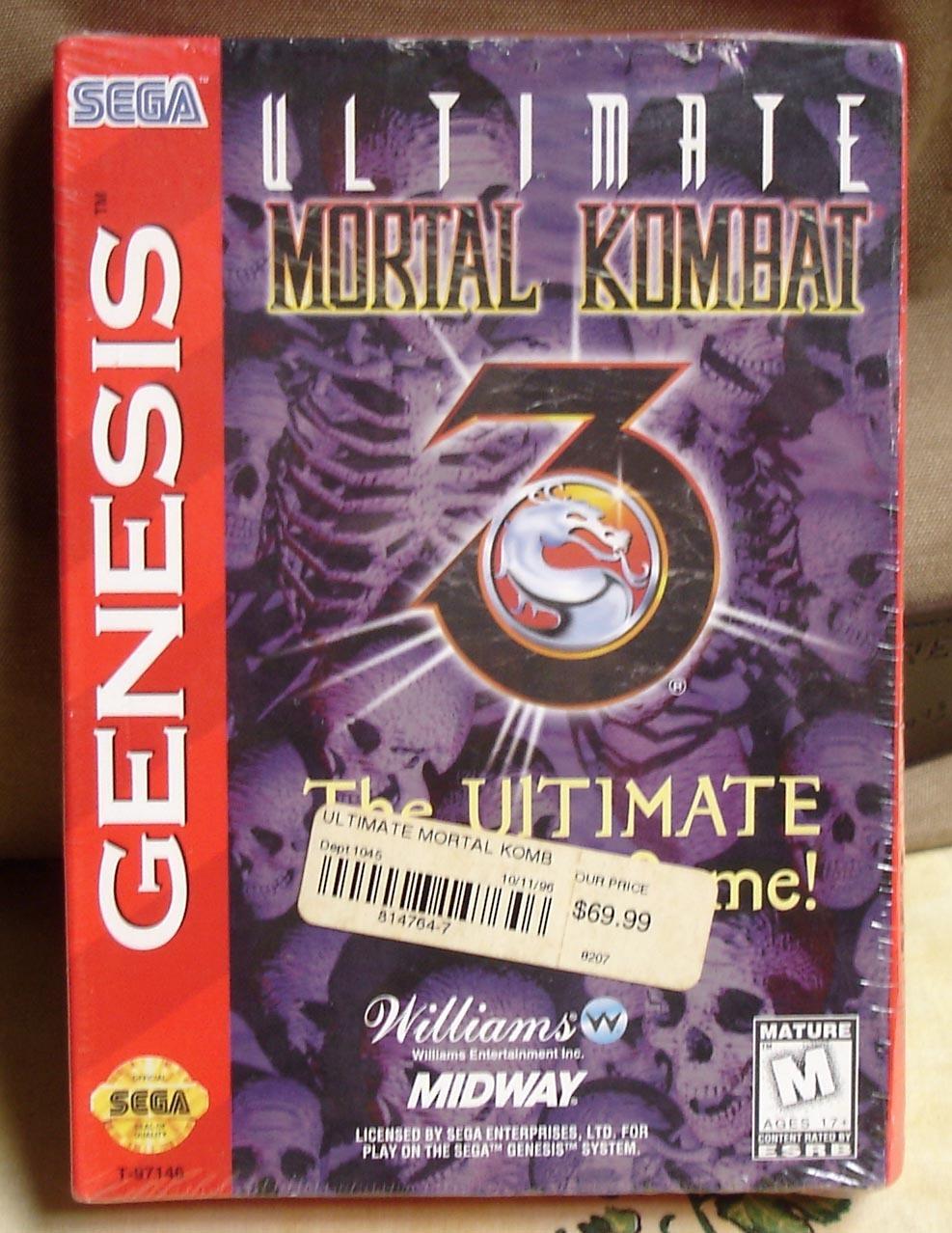 sega genesis flashback mortal kombat 3 moves