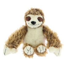 NICI Sloth Brown Stuffed Animal Plush Toy Dangling 6 inches 15cm - $16.00