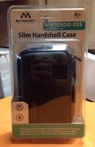 MERKURY Nintendo DS DSI 3DS Slim Hardshell Case BLACK FACTORY SEALED!!! - $9.88