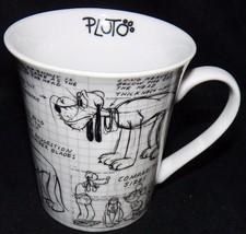 2008 Disney Pluto the Dog Sketch Book Don Towsley Animator Coffee Mug Cu... - $27.99