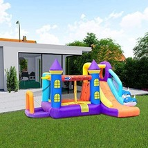 Inflatable Bouncer Jumping House, Theme Bounce Slide Castle with Slide Extra Dur - $1,244.10