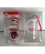 Dunkin Donuts 2016 Elf on the Shelf + Snow Globe Cup Christmas Holiday O... - $446,20 MXN