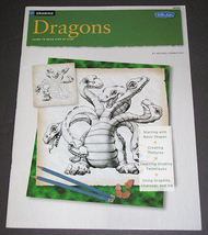 Drawing Dragons Learn to Draw Step by Step, Walter Foster No. HT295  - $12.00