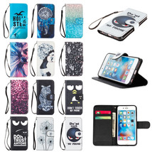 Wallet Flip Smart Cover Stand Phone Case Card Slots for Apple iPhone 6 6S 7 Plus - $5.89+