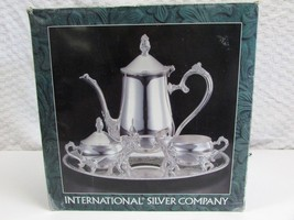 International Silver Co 5pc Silverplated Tea Se... - $19.78