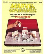 Marvel Super Heroes: Adventure Fold-Up Figures Featuring Pit of the Vipe... - $19.99