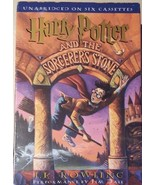 LISTENING LIBRARY HARRY POTTER & THE SORCERER'S STONE Unabridged on 6 Ca... - $15.94