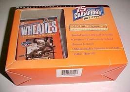 Jackie Robinson Dodgers Mini Wheaties 24K Gold Signature 75th 1927-1999 New - $9.89