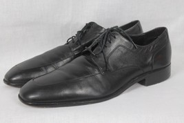 COLE HAAN Mens Black Leather Oxford Shoes 10.5 M - $34.60
