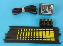 "Tyco 229 MM 9"" Terminal Track B-5832T Slot Car Track Piece With Power Plug  - $19.69"