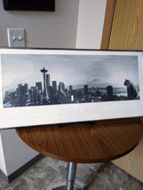 "Collectible ""Cat  With A View"" Space Needle Mount Rainier by JOSEF SCAYLEA PRINT image 1"