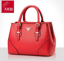 Free Shipping Women Leather Handbags Large Shoulder Bags Mixed Color Bags T279-6 - $40.00