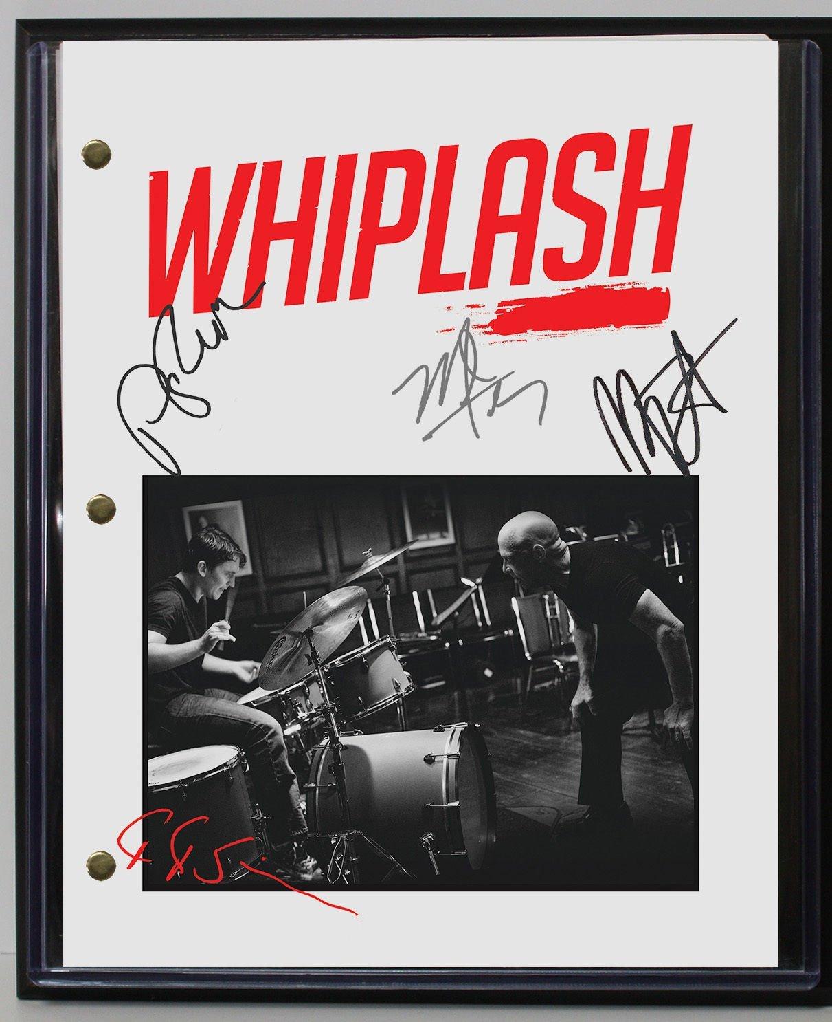 "WHIPLASH LTD EDITION REPRODUCTION MOVIE SCRIPT CINEMA DISPLAY ""C3"""
