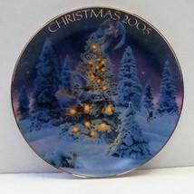Avon Angel Lights Christmas 2005 Frank Riccio Decorative Plate, no box - $5.99