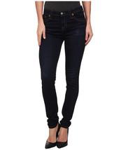 NWT $48 Sonoma Dark Wash Comfort Stretch Skinny Jeans Size 24W Mid Rise - $18.29