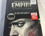 Boardwalk Empire. The complete Fifth Season. DVD, 3 Discs. 2 Free Episodes of th