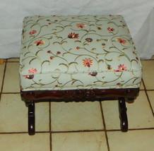 Mahogany Carved Footstool / Stool  (RP) - $349.00