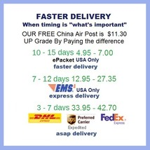 Shipping Pay Link for Faster Delivery - Options for Fast, Express, or ASAP